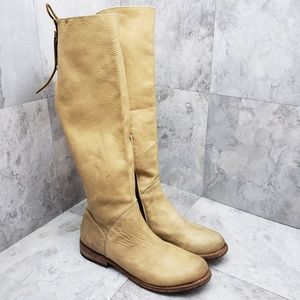 BED STU MANCHESTER TAN DISTRESSED BOOTS SIZE 9